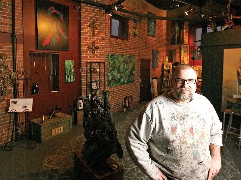 Painter Edward Gilmore opens Studio 66 Art Gallery this week - YOUNG KWAK