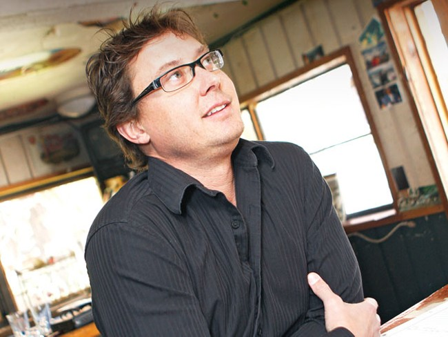 Parkside Bistro owner Kevin Eskelin recalls the good times. - YOUNG KWAK