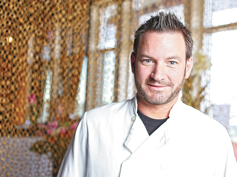 Patrick Fesher, executive chef at Hay J\'s Bistro, says Restaurant Week is a way to introduce diners to new cuisine. - YOUNG KWAK