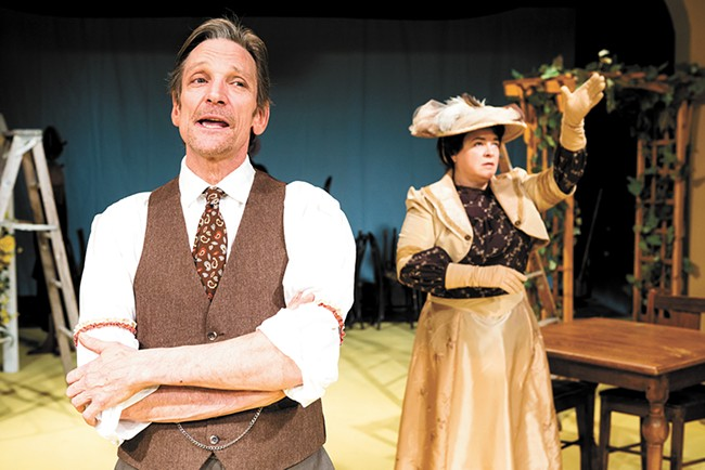 Patrick Treadway provides a powerful performance in Our Town. - STEPHEN SCHLANGE