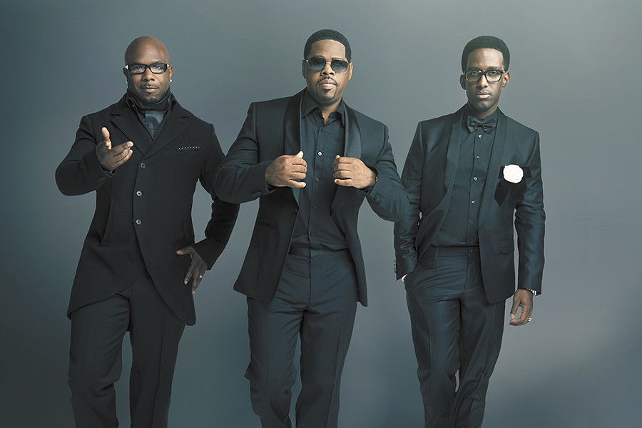 Philadelphia boy band Boyz II Men are still thrilling the ladies.