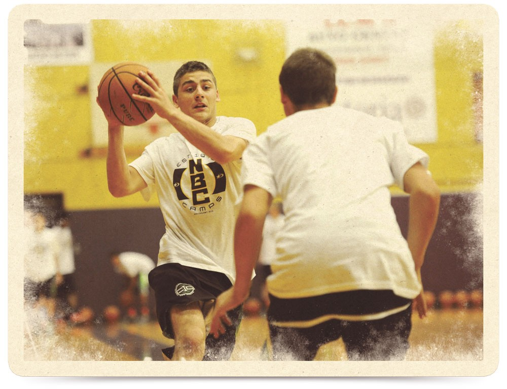 Players learn more than just basketball skills at NBC Camps' Spokane-area camps.