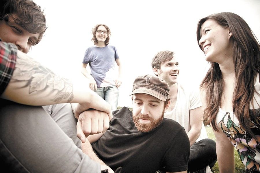 Pop rock quintet Said the Whale has received plenty of acclaim in their home country of Canada.