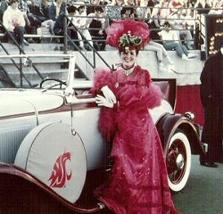 Homecoming in the '80s.