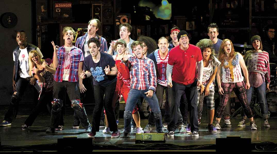 Punk rock and musicals can co-exist.