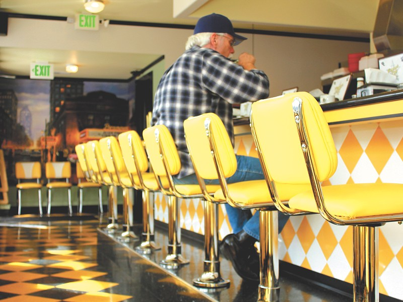 Regulars at Ferguson's finally have their seats back. - JEFF FERGUSON