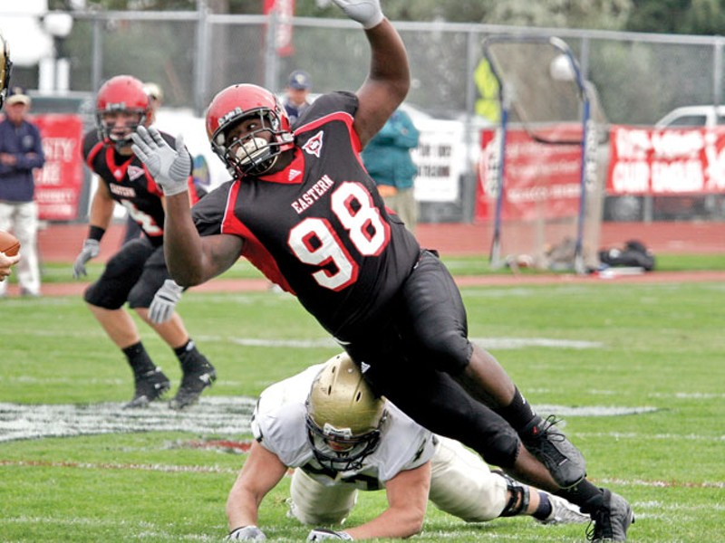 """Renard Williams does things his teammates have """"never seen a kid do."""" - EWU ATHLETIC DEPT."""