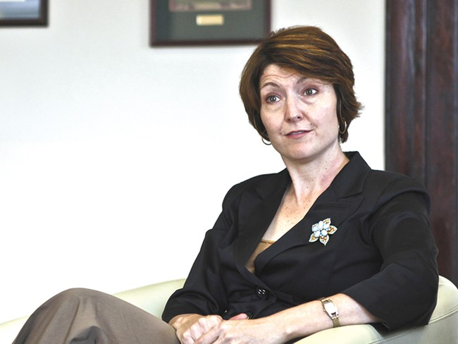 Rep. Cathy McMorris Rodgers is optimistic her Hydropower  Regulatory Efficiency Act will pass this year - JORDAN BEAUCHAMP
