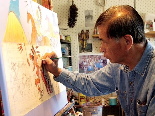 Respected artist George Flett passed away on Jan. 30 at age 66.