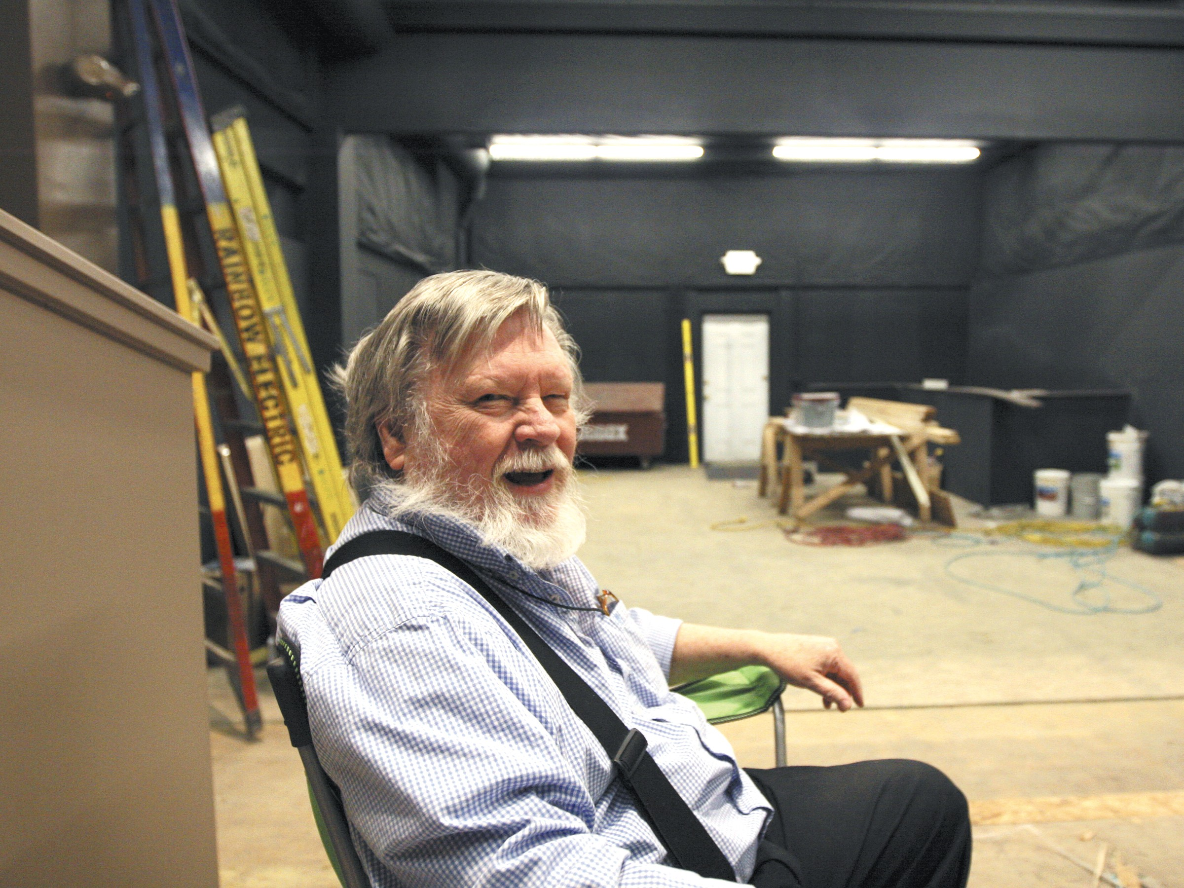 Retired physicist Bob Nelson wants to bring an edgier brand of comedy to Spokane. - MARSHALL E. PETERSON JR.