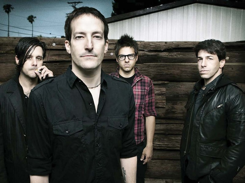 Richard Patrick (center) and Filter