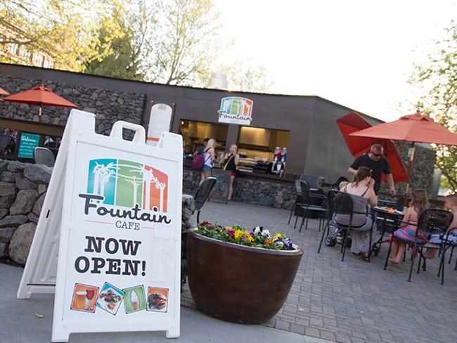 Riverfront Park\'s new dining spot. - JENNIFER DEBARROS