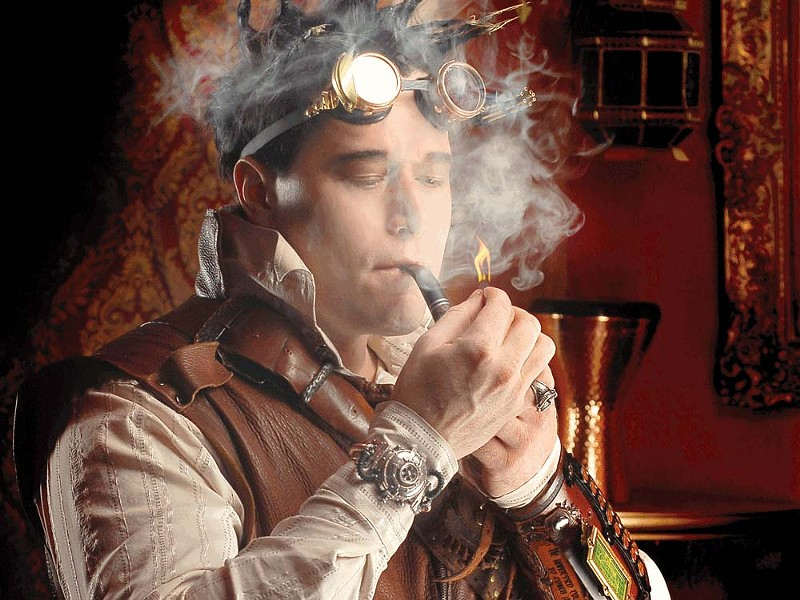 Robert Brown: the mastermind of Abney Park