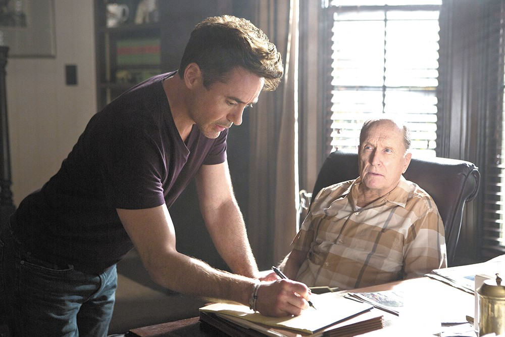 Robert Downey Jr. and Robert Duvall go head-to-head in The Judge.