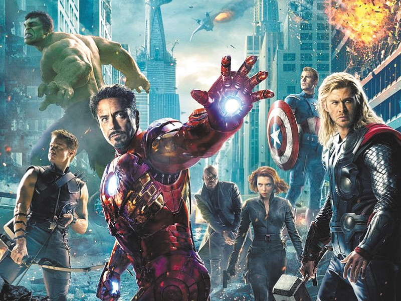 "Robert Downey Jr. returns as \""Ol\' Glow Hands.\"""
