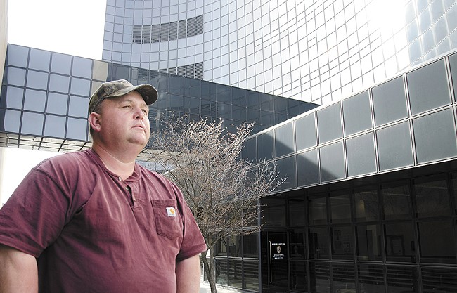 Robert Lee says the Spokane County Jail needs to fix its policy for providing medication after his 19-year-old son spent several days without his mental health drugs. - JACOB JONES