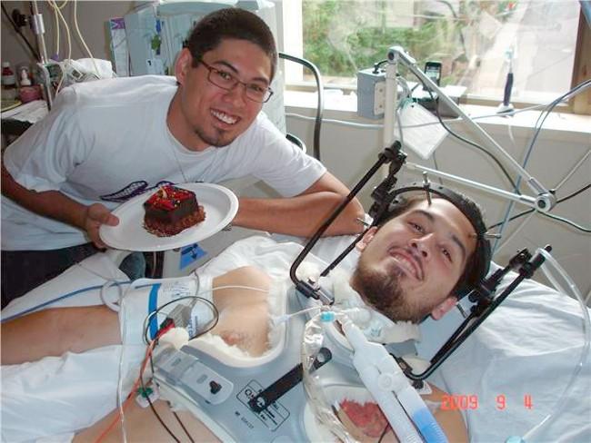 Robert Yamada and his brother Jeffrey.