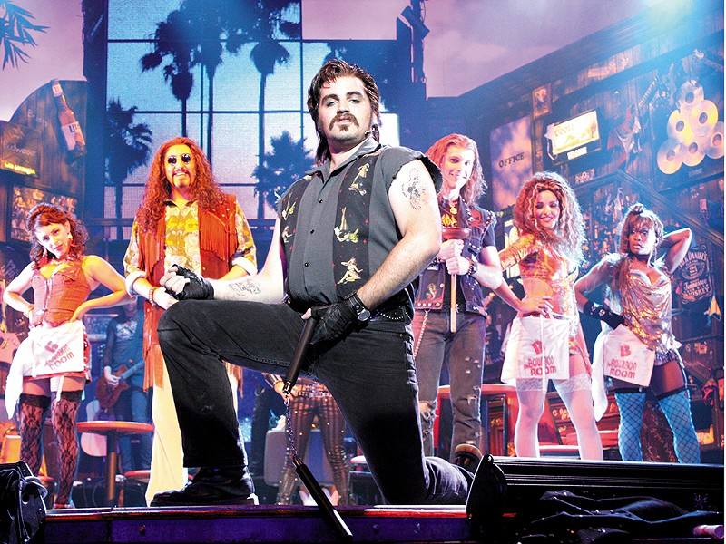 Rock of Ages brings a heavy dose of nostalgia to INB this weekend.