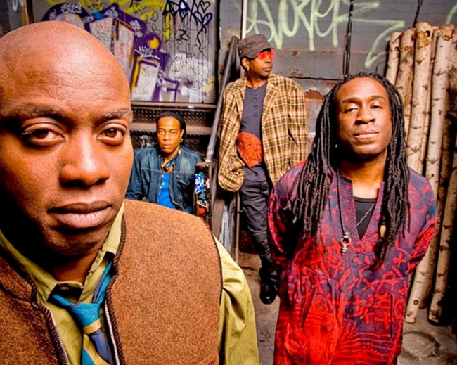 Rockers Living Colour will play their debut album Vivid in its entirety Saturday.