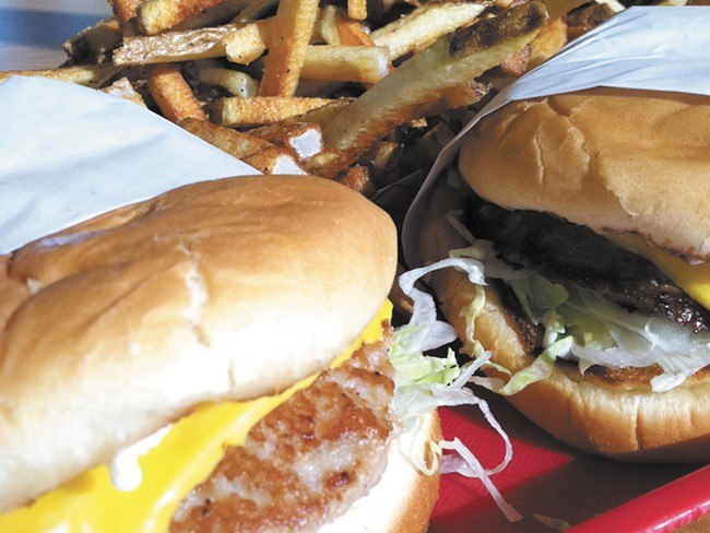 Roger's Burgers are now available at two locations in Coeur d'Akene . - CARRIE SCOZZARO