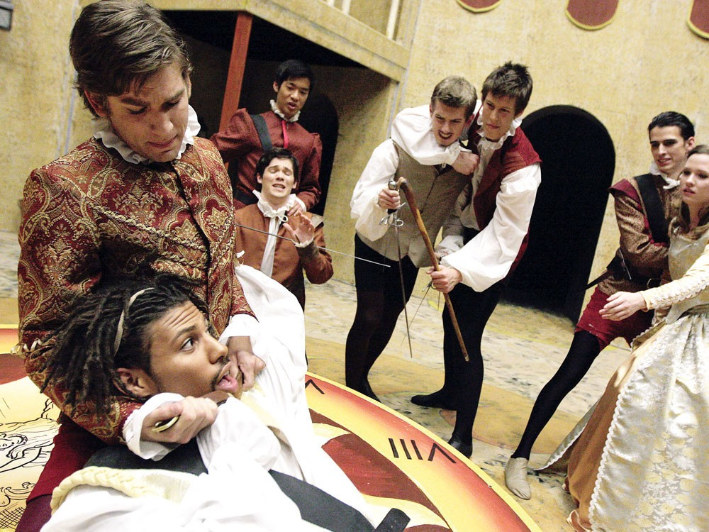 Romeo, even when revenge-killing, is still super emo - YOUNG KWAK