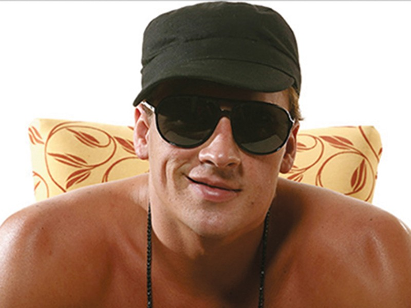 Ryan Lochte: Olympic-caliber dumbass.