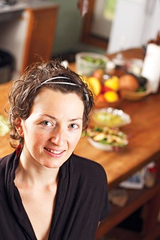"Sarah Edwards of Chakraw Living Foods, on her conversion to a raw food diet: ""I felt better than I had my whole life."""