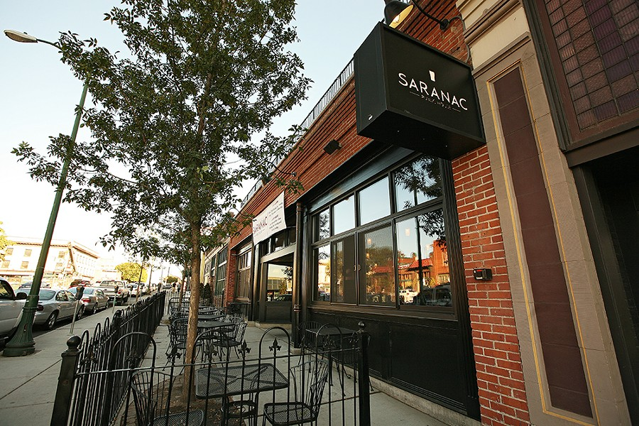Saranac's menu is always solid, but keep an eye out for their specials. - YOUNG KWAK