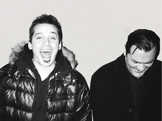 "Sean ""Slug"" Daley (left) and Anthony ""Ant"" Davis"