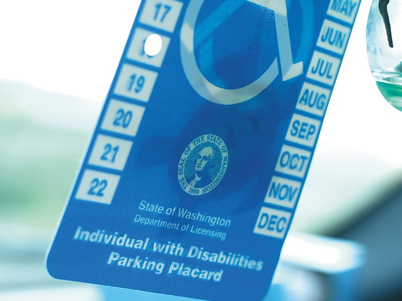 Seattle, for one, estimates disabled parking abuse costs the city $1.4 million a year. - CHRIS BOVEY