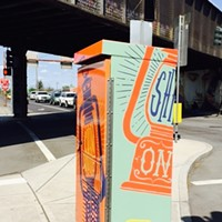 Second Avenue traffic signal boxes now feature local artists' work