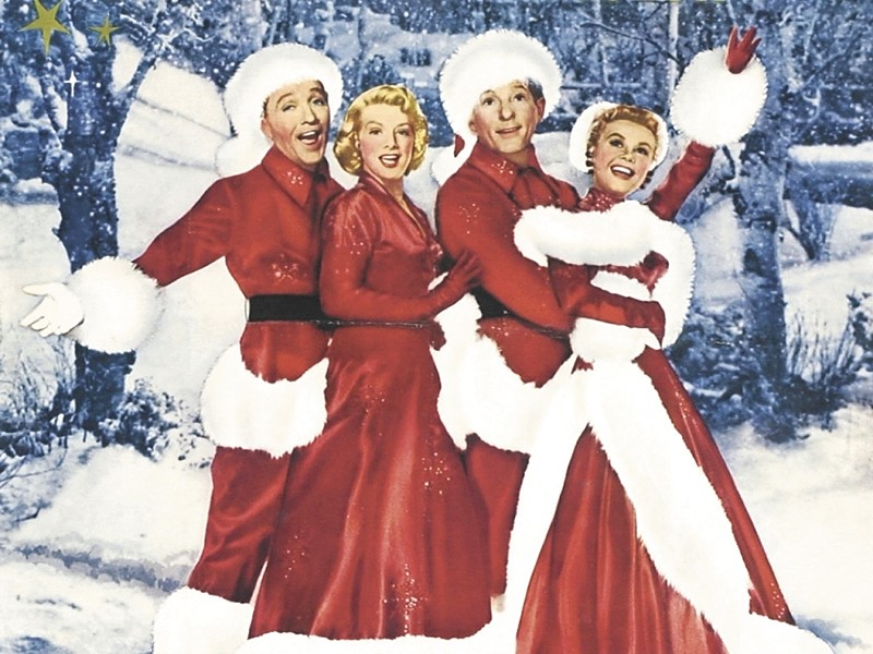 See our local boy Bing on the big screen in the holiday classic White Christmas at the Bing Crosby Theater on Dec. 15.