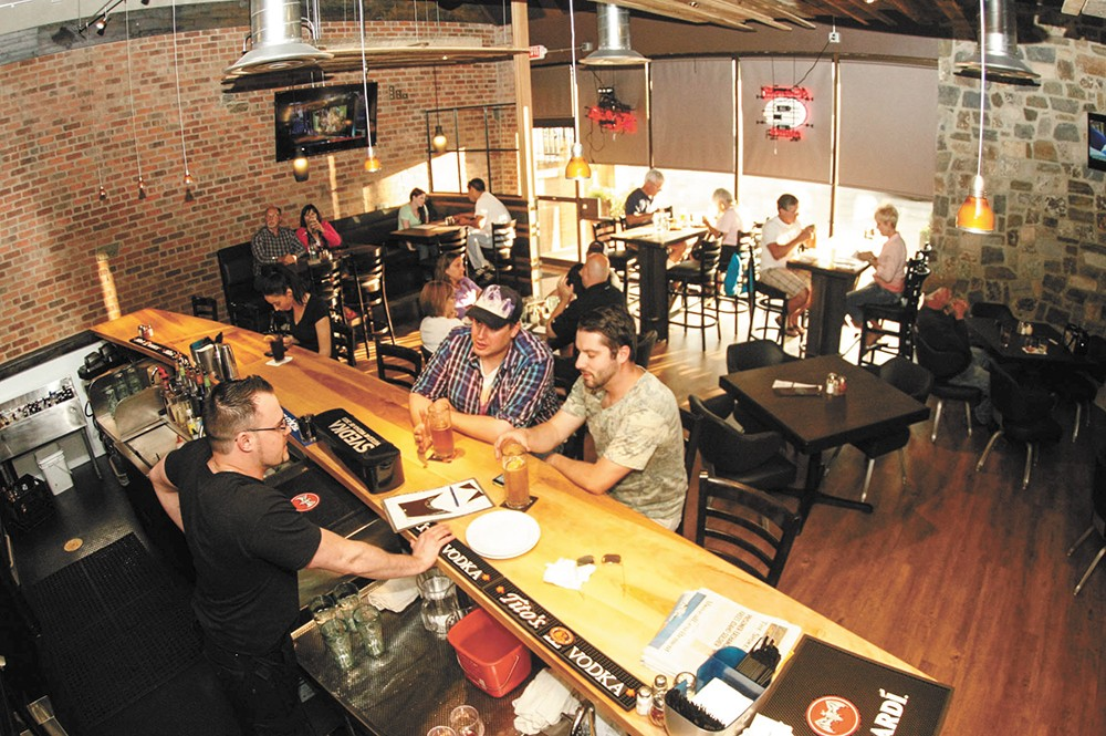Selkirk Pizza has a sleek interior and an innovative ordering system. - MEGHAN KIRK