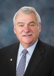 Sen. John Goedde was defeated in last week's primary.