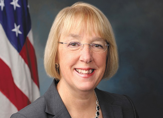 """Sen. Patty Murray: """"I feel very strongly that women ... should be deciding a woman's personal health care."""""""