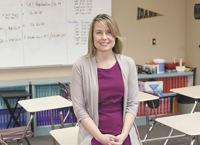 Shannon Hall has been at Lakeland for nearly 21 years. - ANNIE KUSTER