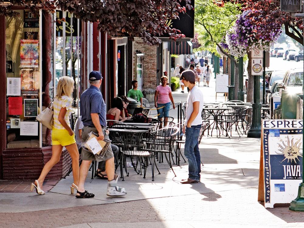 Sherman Avenue in Coeur d'Alene - YOUNG KWAK