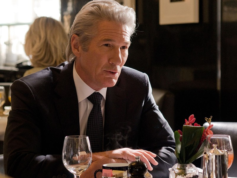 Silver fox Richard Gere is back in business.