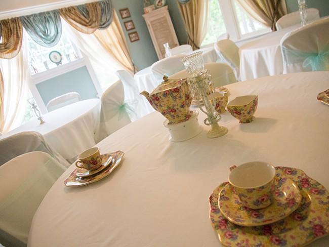 Silver Spoon takes a throwback approach to teas. - JENNIFER DEBARROS