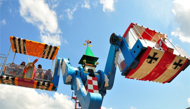 The new Barnstormer ride as pictured on Bowcraft's website.