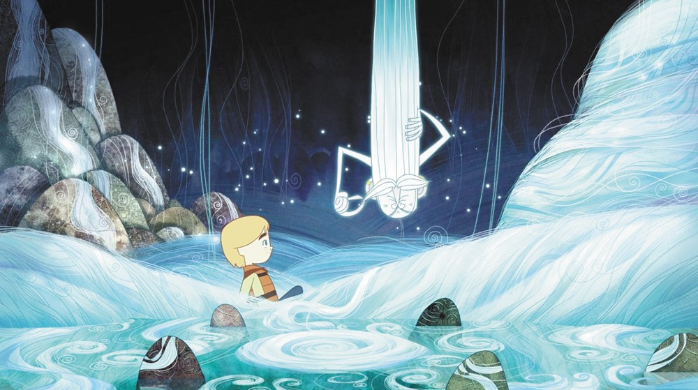 Song of the Sea was nominated for a Best Animated Feature Oscar this year.