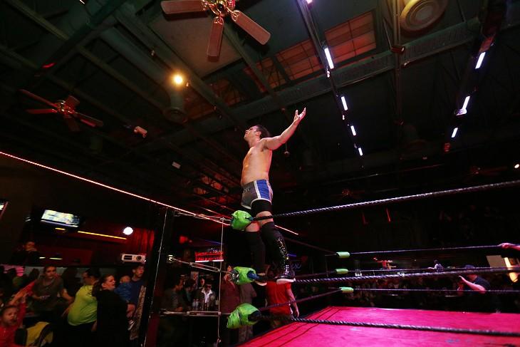 Spokane Anarchy Wrestling at Swaxx