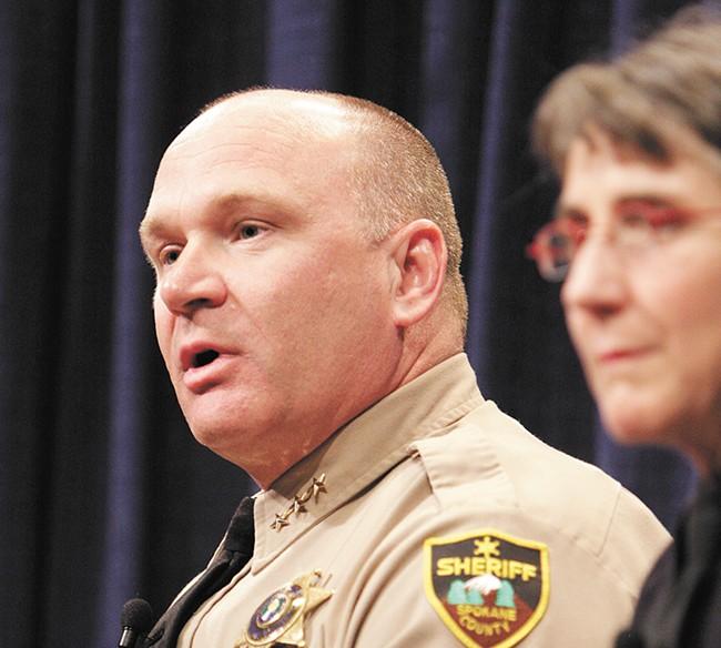 Spokane County Sheriff Ozzie Knezovich would welcome an ombudsman. - YOUNG KWAK