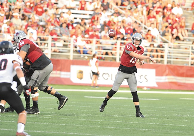 Spokane native Connor Halliday has thrown for almost 4,000 yards this season and has put WSU in line for a bowl appearance.