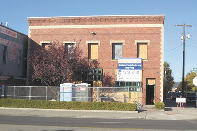 Spokane Public Radio's future home, a historic firehouse on North Monroe.