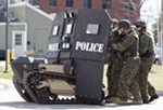 "Spokane sheriff: police militarization a ""myth"""