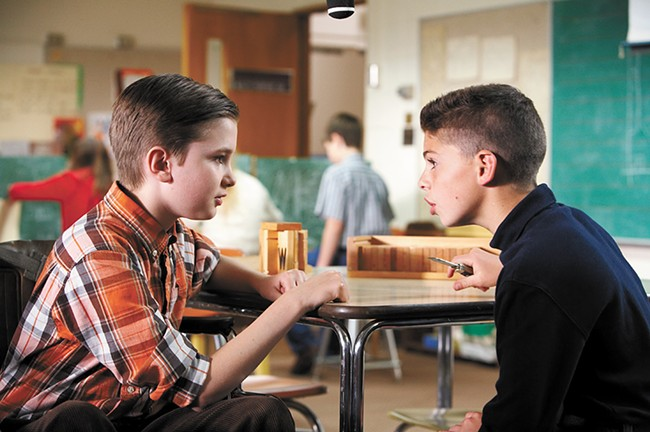 Spokane's own Brayden Tucker (right) makes his film debut in this locally made movie.