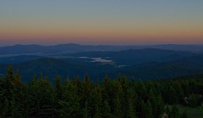 Evening view from Mt. Spokane - JACOB JONES