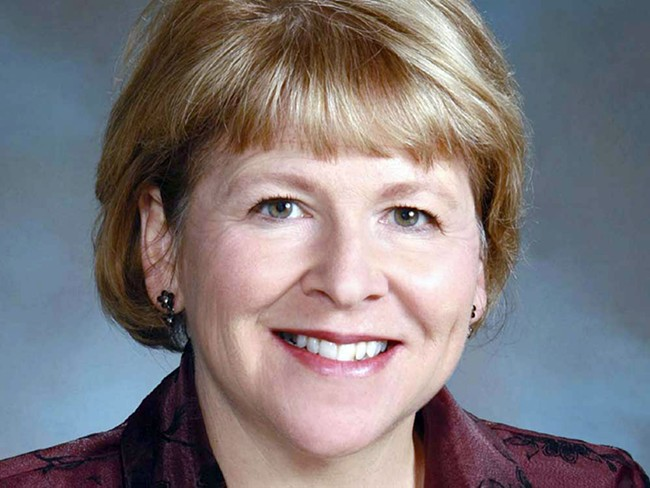 State Senate Majority Leader Lisa Brown: When the public votes on initiatives, they don't have to add up a budget.