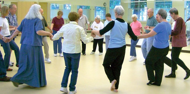 Sufferers of Parkinsons disease are finding that dancing provides them with newfound confidence and comfort. - M.C. PAUL